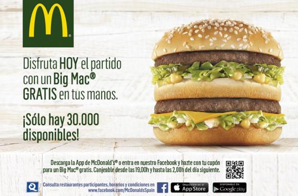 """Fotograma que muestra la animación del banner en flash la campaña de Display """"Mundial 2014"""" de MacDonalds hecha para la agencia FCB en RichMedia"""
