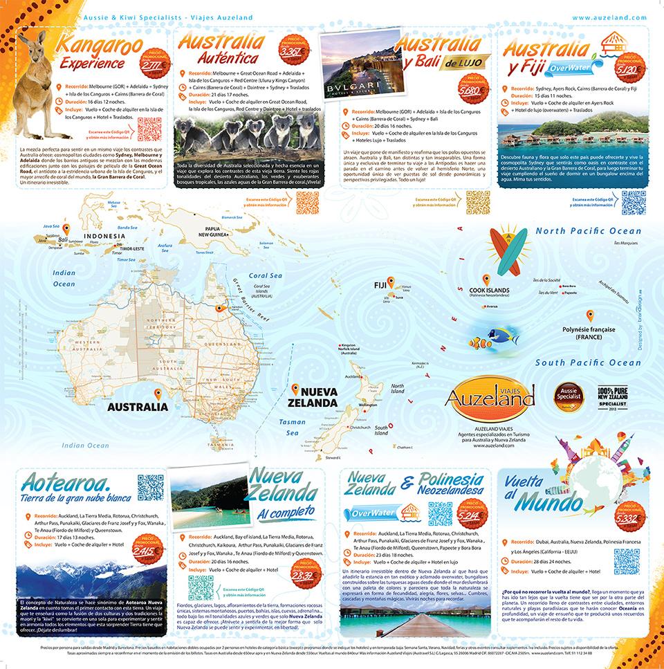 diseño del brochure formato mapa ilustración del mapa de