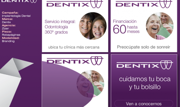Banners Dentix Branding