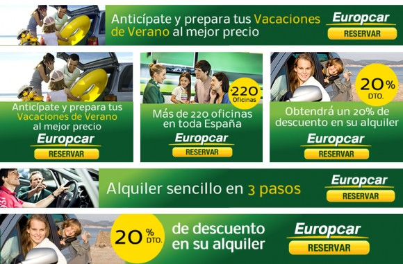 Europcar's Online Creatives
